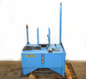 """Hydraulic Pwr-Unit Fluid Reservoir Storage Tank ~30""""x19""""x11"""" Approx:25-Gal Steel"""