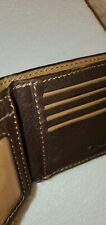 CLARKS BROWN MEN SMALL CREDIT CARD ++ WALLET