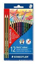 Staedtler Bonus Pack-Noris Color 12 Pack con 2 lápices de grafito Noris Eco