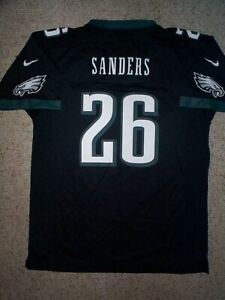 (2021-2022) NIKE Eagles MILES SANDERS nfl Jersey YOUTH KIDS BOYS (xl)