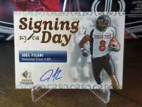 2007 SP Rookie Threads Signing Day Autographs #SDAJF Joel Filani Auto