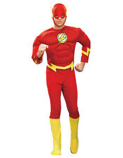 """Flash Mens Muscle Costume, Large, CHEST 42 - 44"""", WAIST 34 - 36"""", INSEAM 33"""""""