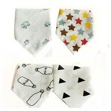 Waterproof Soft Triangle Bibs Baby Saliva Towel Gauze Cotton Feeding Bandana
