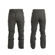 Trik Moto M107 By RST Waterproof Motorcycle Textile Pants Trousers - Black