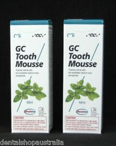 GC Tooth Moussex2 relieves whitening sensitivity, dry mouth,conditions  (M2)