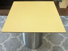 HPL Platte Tischplatte 8mm Sun Yellow beidseitig 720 x 696 mm TRESPA® Meteon®