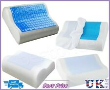 Memory Foam Cooling Gel Pillow Pad Cold Cool Sleeping Night Orthopedic Comfort