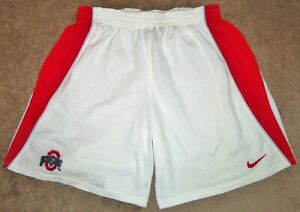 VTG AUTHENTIC 00's OHIO STATE BUCKEYES NIKE TEAM ISSUE GAME WORN SHORTS 2X TALLA