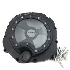 Engine Clutch cover see through Kawasaki ZX14R ZZR1400 2006-2009 BLACK right