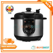 Tower Health Multi-Function Pressure Cooker,5Litre,1000W-Stainless Steel -T16004