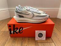 Nike x Sacai LD Waffle Wolf Grey Summit White UK 9  Brand New 100% Authentic