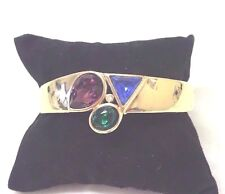 Vintage  Jewellery Lovely 1980's Dazzling  Signed Trifari Bracelet