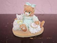 "1992 Calico Kittens ""Friedship is Sewn Stich by Stich"" figurine for sale by owne"