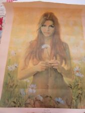 "Flower Child canvas print 28 X 22.5"" art nude by Frank Tauriello"