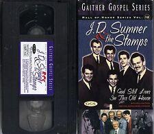 "J.D.SUMNER & THE STAMPS~""GOD STILL LIVES IN THIS OLD HOUSE""~97 VG/C VHS~20+ SONG"