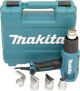 Makita HG5030K Heavy Duty 1600W Heat Hot Air Gun + Accessory 240V Carry Case