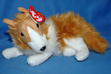 Ty Beanie Baby Cassie - MWMT, Dog Collie