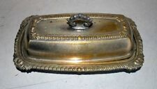 Vintage Old Indian Brass Hand Crafted Betel Dryfruit Box With Lid Primitive Box