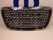 12-14 Chrysler 300 New Gloss Black & Chrome Front Grille Mopar Factory Oem