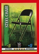 WWE SLAM ATTAX 10th Edition -Topps 2017- Card Basic n. 358 - STEEL CHAIR