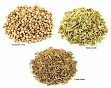 Coriander Seeds 500g - Cumin Seeds 500g - Fennel Seeds 500g (3 Pack)