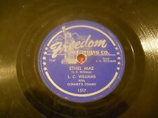 lot of     79    78 rpm records, take em' all for one price.L.C.WILLIAMS