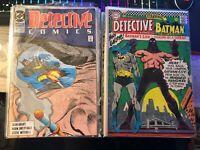 HUGE BATMAN DETECTIVE COMICS LOT! 355-1008 (INCOMPLETE) READ DESCRIPTION!