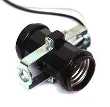 2pc Bakelite Dual Lamp Holder Socket E-27 E27 250V 660W UL 20AWG Wire Lead #104B