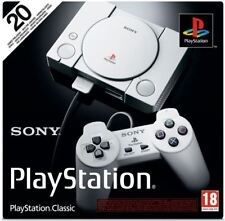 Sony PlayStation Classic Mini Console 2 Controllers 20 Games Ps1