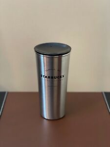 Starbucks Silver Double Walled Insulated Stainless Steel Tumbler 16oz