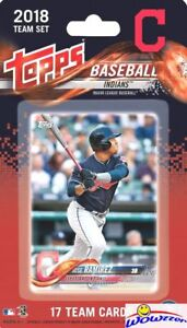 Cleveland Indians 2018 Topps Baseball EXCLUSIVE 17 Card Team Set -Franciso Lindo