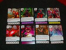 MARVEL DICE MASTERS - Set of 8 RARE Promos - RALLY! Takedown TELEPORT +++ Op Kit