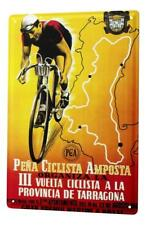 Tin Sign Sports  Cycling Italy