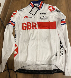 Team GB Cycling Long Sleeve Jacket BNWT Size small. Great Britain Racing