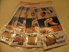 Nolan Ryan Card & Pin Promotional Giveaway Commemorating No Hitter #3