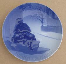 Bing & grondahl de noël 1907 plaque