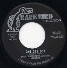 """MARYANN FARRA & THE GENESIS """"ONE DAY BOY"""" ORIG US PSYCH 1967"""