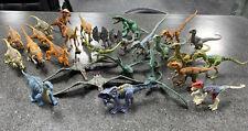 Mattel 2017 Jurassic World Attack Pack Lot Of 27 Dinosaur Small Action Figures