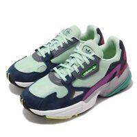 adidas Originals Falcon W Clear Mint Green Navy Women Casual Shoe Sneaker BB9175