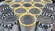 ONE (1) BANK SEALED KENNEDY HALF DOLLAR COIN ROLL - $10 FV UNSEARCHED COIN LOT