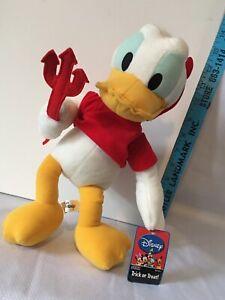 Sega Disney Donald Duck Devil Costume Plush Stuffed Animal Series 1 Trick Treat