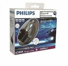 New Philips Led Fog Bulbs X-treme Ultinon Led fog 6200K H8/H11/H16 12834Unix2J