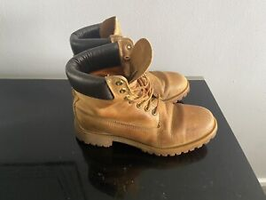Mens Tan Brown Timberland Ankle Boots Uk Size 8.5