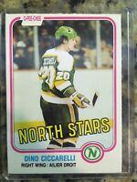 1981-82 O-Pee-Chee Dino Ciccarelli RC NM/MT North Stars #161