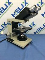 Bausch & Lomb Balplan Base Microscope (31-01-51) w/ Optilume Illuminator (2)