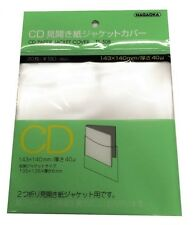 Nagaoka CD Plastic Cover TS-508 For Mini LP CD 20pcs [Fast Shipping]