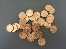 1955 CANADA 1¢ UNCIRCULATED PENNY COIN - Small Cent - 1 coin from this lot