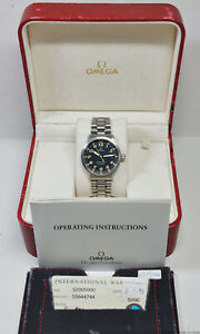 Vintage Omega Dynamic Automatic Black Dial Steel Mens Watch Box Papers