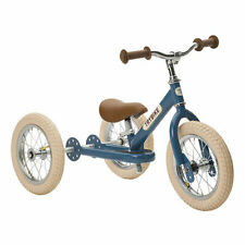 Trybike Steel 2-In-1 Tricycle and Balance Bike - Blue