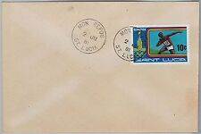 ST LUCIA -  POSTAL HISTORY - COVER with nice postmark: MON REPOS 1981 olympic